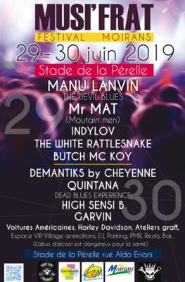 [agenda] 29 et 30 juin : Musifrat Festival à Moirans (38)