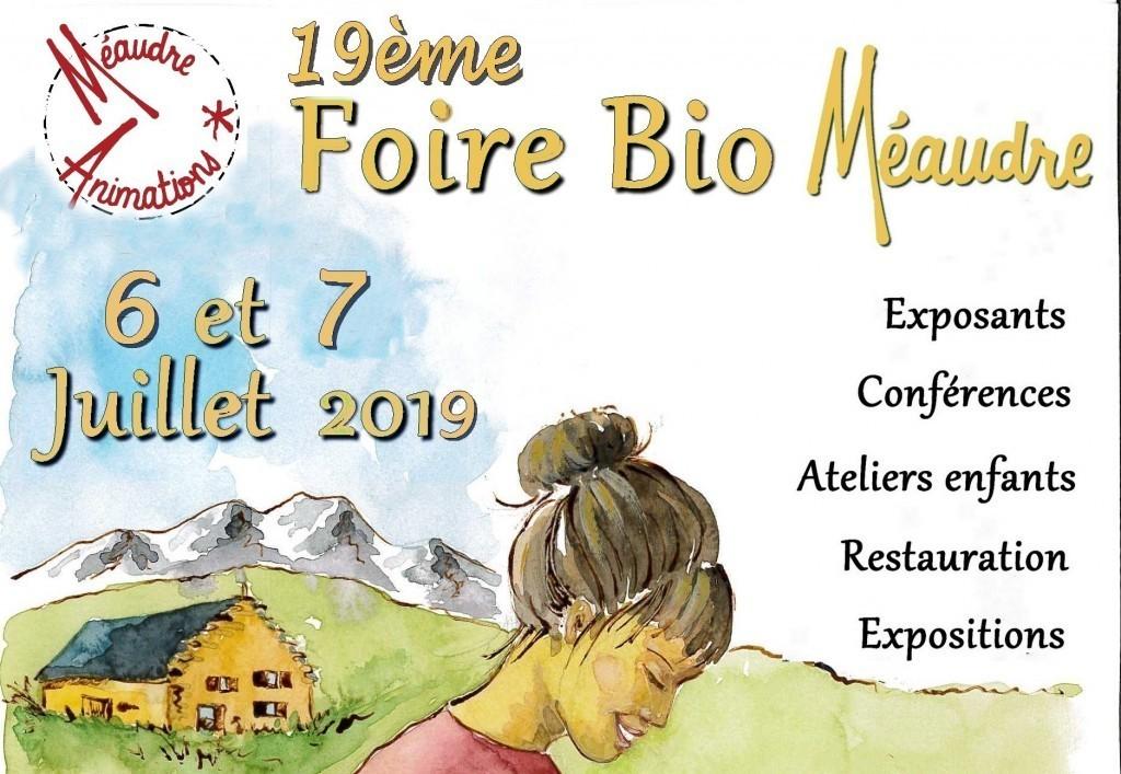 [agenda] 6 et 7 juillet : Foire Bio de Méaudre (38)